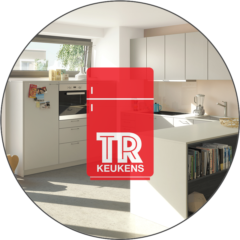Logo TR keukens Rond